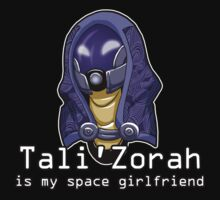 Tali is My Space Girlfriend by Maggie Davidson