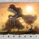Epoch Cretaceous Dinosaur Battle by MudgeStudios