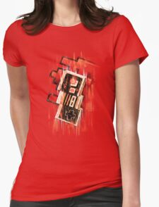 Blurry NES Womens Fitted T-Shirt