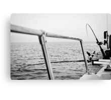 Fishing rods Canvas Print