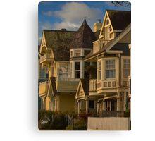 Pacific Grove Victorian Canvas Print