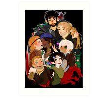 Dragonn Age 2 Champions Art Print