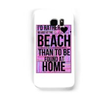 lost at the beach  Samsung Galaxy Case/Skin