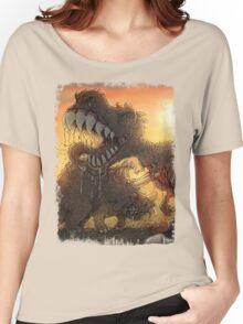 Epoch Cretaceous Dinosaur Battle Women's Relaxed Fit T-Shirt