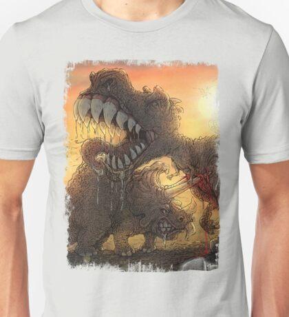 Epoch Cretaceous Dinosaur Battle Unisex T-Shirt