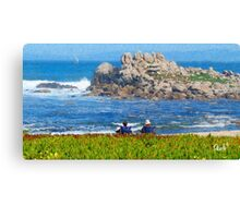 Pacific Grove Afternoon Canvas Print