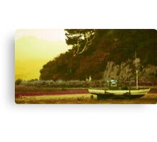 Dowling Bay Low Tide - New Zealand Series Canvas Print