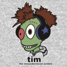 Tim the misunderstood zombie (variation) by tribal191983
