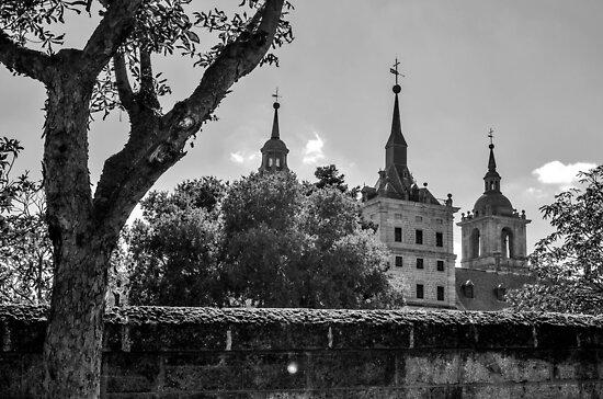 El Escorial Palace by Jonathan Evans