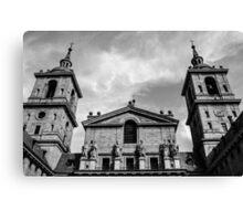 Spanish church Canvas Print