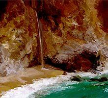 McWay Falls II - Big Sur, CA by JimPavelle