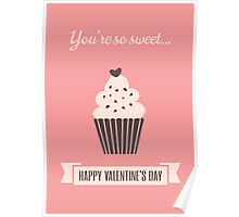 Cute Valentine's Day Design Poster