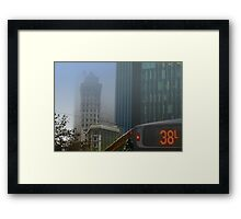 38L Framed Print