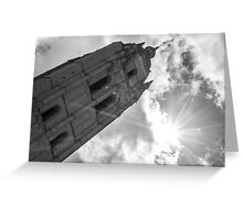 Towers of Spain Greeting Card