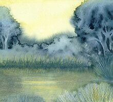 Pond (original sold) by Jacki Stokes