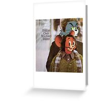 Tom and Jerry - Bridge Over Troubled Water Greeting Card