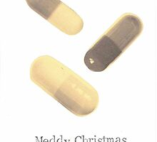 Meddy Christmas /  Little Yellow Pills by bluespecsstudio