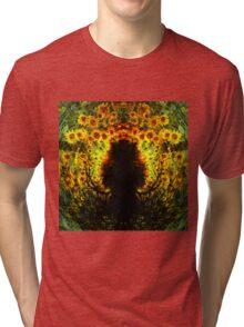 SUNFLOWER TREE Tri-blend T-Shirt