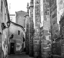 Streets of Avila by Jonathan Evans