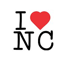 I Heart NC by Vana Shipton