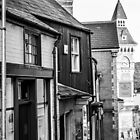 Streets of Hay-on-Wye by Jonathan Evans