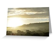 The Hills of Wales Greeting Card