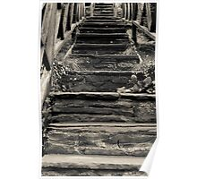 Old Stairs Poster