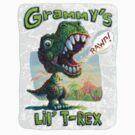 Grammy's Lil' T Rex by MudgeStudios