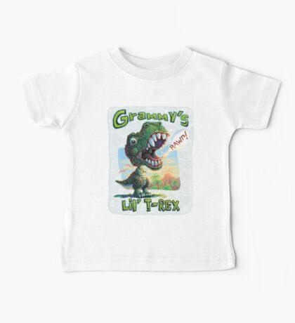 Grammy's Lil' T Rex Baby Tee