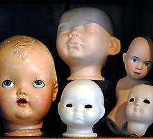 Doll Heads (horizontal) by MarjorieB