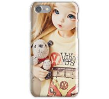 Vintage t-shirt iPhone Case/Skin