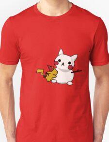 Pikachu and his snowman T-Shirt