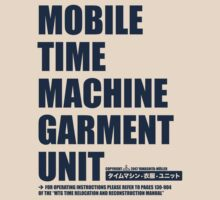 Mobile Time Machine Garment Unit by Martin Madsen