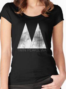 Twin Peaks, WA (White Lodge) Women's Fitted Scoop T-Shirt