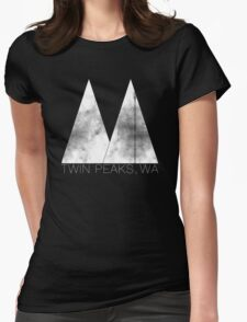 Twin Peaks, WA (White Lodge) Womens Fitted T-Shirt