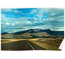 The Big Sky (Eastern Sanders County) Montana Poster