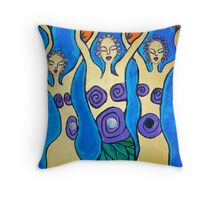 Carried Throw Pillow