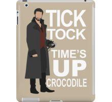 Captain Hook - Tick Tock iPad Case/Skin