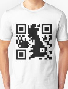 QR Code - Great Britain T-Shirt