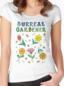 Surreal Gardener Women's Fitted Scoop T-Shirt