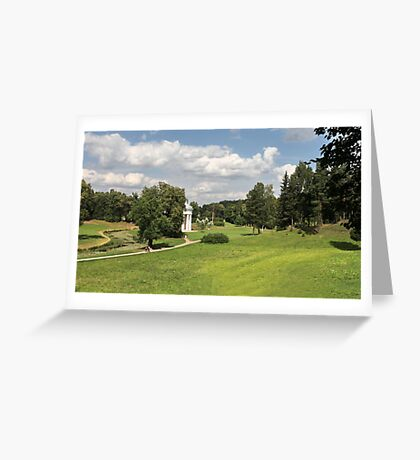 Scenic footpath Greeting Card