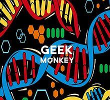 geek monkey  by amyskhaleesi