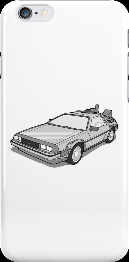 Back to the Future Delorean  by Creative Spectator