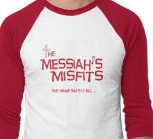 Misfits Logo-Wear Men's Baseball ¾ T-Shirt