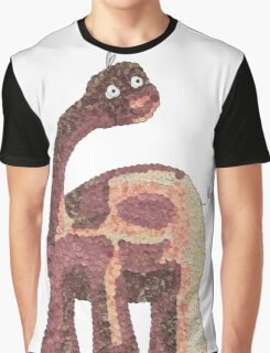 Dino Dots- Paper Craft Graphic T-Shirt