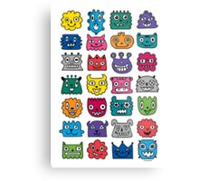 Monster Mash iphone case Metal Print