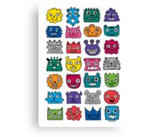 Monster Mash iphone case Canvas Print