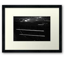 Trim SLR Framed Print
