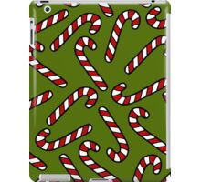 Candy Cane Pattern iPad Case/Skin