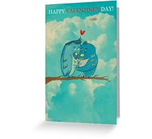 Two Love Birds Greeting Card